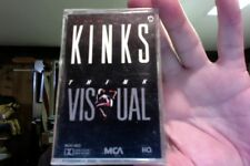 The Kinks- Think Visual- new/sealed cassette tape
