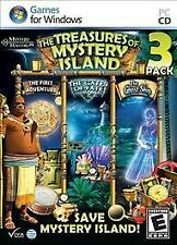 Treasures of Mystery Island 3 Pack Hidden Object PC Games