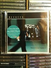 BEE GEES / This Is Where I Came in CD 2001 New Sealed USA Release