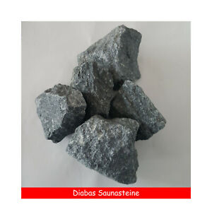 20 kg Saunasteine Diabassteine Sauna Aufgusssteine Ofensteine 30 - 110 mm Top