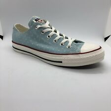 Converse Chuck Taylor All Star Low Blue Star Cut Out Size 7M 9W (160516F) 9052890cb