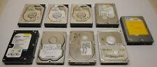 "Mixed Lot of 9 Desktop Hard Drives IDE/ATA/EIDE 3.5"""