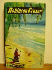 Robinson Crusoes Leben und seltsame Abenteuer. Defoe. Mit Bildern von Wywiorski