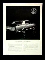 "1963 Buick Riviera The Riviera Coachwork Original Print Ad 8.5 x 11 """