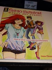ARTL Shojo Fashion Manga Art Fashion School (2009 Irene Flores) $22.99US