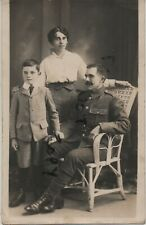 WW1 soldier family group Wife son unknown County regiment Sandown Isle of Wight