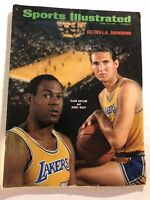 1968 Sports Illustrated LAKERS vs Celtics JERRY WEST No Label BAYLOR NBA Finals