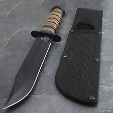 "12"" USMC MARINES TACTICAL COMBAT FIXED BLADE KNIFE Survival Hunting WWII"