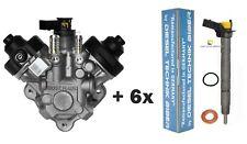 Einspritzdüse Injektor Audi A6 Q5 Q7 2,7 3,0 TDI + Hochdruckpumpe 0445010646