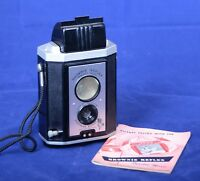 EASTMAN KODAK BROWNIE REFLEX Vintage Film Camera Synchro Model USA in BOX
