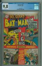 BATMAN #182 CGC 9.8 WHITE PAGES // 80 PAGE GIANT