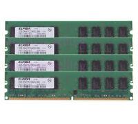 Elpida 8GB 4x 2GB PC2-6400 DDR2 Memory Fr Dell OptiPlex 740 745 755 760 760D 960