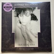 JOHNNY THUNDERS - QUE SERA SERA RESURRECTED PURPLE/WHITE RECORD STORE DAY 2019