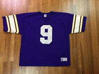 Vintage Logo 7 Minnesota Vikings Jersey Sz XL Jim McMahon Purple