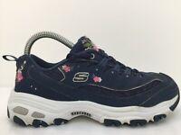 Skechers Navy Nubuck Goretex Casual Sports Walking Trainers  Women  UK 5 Eur 38