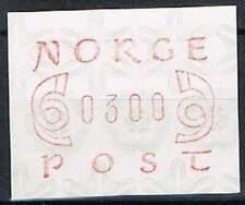 Noorwegen postfris automaatzegels 1980 MNH A2 (04)