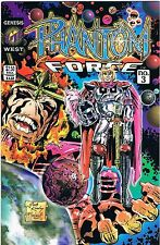 1993 Phantom Force The Interrogation 3 Genesis West Comic Book