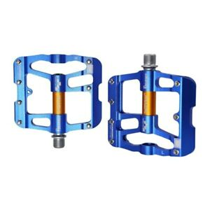 """MZYRH Cycling Aluminum Flat Road Bike Pedals 3 Bearings MTB Bicycle Pedals 9/16"""""""