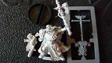 WARHAMMER 40K SPACE MARINE LIMITED EDITION BLACK TEMPLAR CAPTAIN OOP RARE 1999