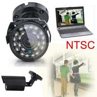 NTSC 1300TVL Waterproof Outdoor CCTV Security Camera IR Night Vision 6mm Lens UP