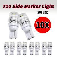 10x T10 Glassockel Glühbirnen Standlicht Kennzeichenlicht Autolampe Seitenlichte