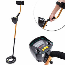 HOMCOM Waterproof Coil Metal Detector Deep Target Sensitive Treasure Hunting Kit