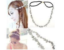 Rhinestone Crystal Flower Leaves Headband Hairband Wedding Bridesmaid Jewelry