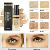 Long Wearing Full Coverage Face Brightening Liquid Concealer Foundation Cream