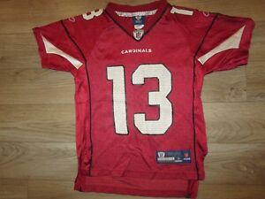 Kurt Warner #13 Arizona Cardinals Reebok NFL Jersey Youth SM 8 children