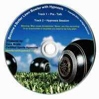 LAWN BOWLS HYPNOSIS CD TWIN PACK NEW CLUB CHAMPION HYPNOSIS SESSION