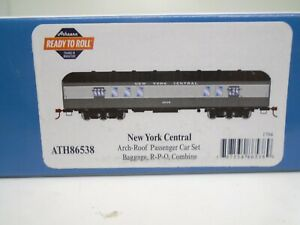 Athearn Ho 86538 Arch Roof Passenger cars(3), NYC