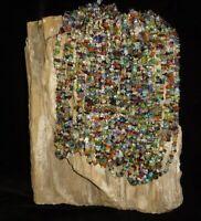Gemstone Beaded Necklace Polished Multi Stones Crystal Healing Reiki