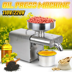 1500W Auto Oil Press Machine Oil Extraction Extractor Expeller Commerical  Y Q