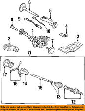 GM OEM-Front Outer CV Joint 26037364