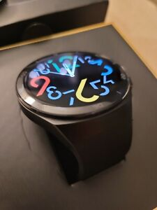 Huawei Watch GT 2E 46mm Black Metal Case with BlsckSilicone Band Smartwatch