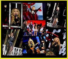 MADONNA REBEL HEART TOUR 1800 PHOTO CD CONCERT LIVE SET 1 + 2 + 3 FRONT