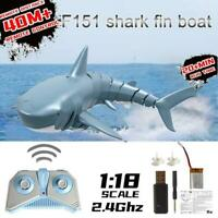 2.4G Remote Control Simulation Shark Electronic Shark Fish RC Boat Prank Toys