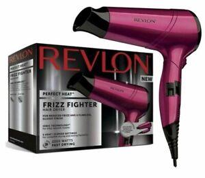 Revlon RVDR5229UK Frizz Fighter 2200 Watts Ionic Hair Dryer 3 Heat/2 Speed BNIB