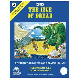 D&D Original Adventures Reincarnated 2 The Isle of Dread