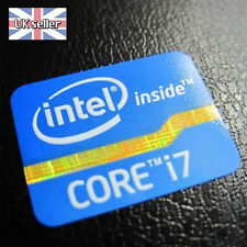 Intel Core i7 Inside Sticker Badge 2nd 3rd Generation LAPTOP LOGO 21mm x 16mm