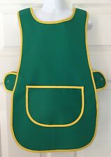 Wholesale Job Lot 10 Brand New Kids Childrens Tabards Aprons Green Clothes