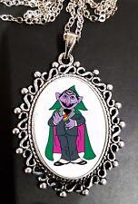Il CONTE Sesame Street Collana con Pendente d'argento per Bambini Carino Cartone Animato