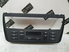 BMW X3 Series E83 Air Conditioning Climate Control Panel Black 3417544
