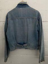 New listing Vintage 1940's Tuf-Nut Denim Buckleback Jacket Workwear Rare 1950's Distressed