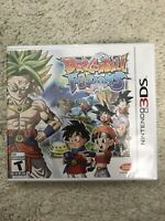 Dragon Ball Fusions (Nintendo 3DS) Brand New Factory Sealed RARE