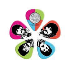 Beatles Sgt Pepper Guitar Picks 10 pack Medium 50th Anniversary D'Addario