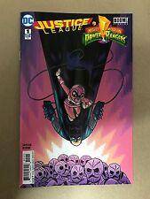 JUSTICE LEAGUE POWER RANGERS #1 BATMAN PINK RANGER VARIANT DC BOOM (2017)