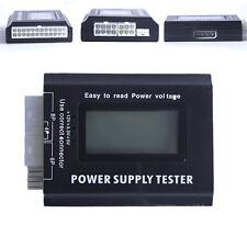 PC Computer LCD 20/24 Pin 4 PSU ATX BTX ITX SATA HDD Power Supply Tester Tool