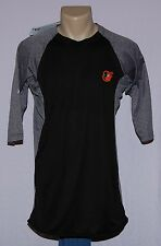 Majestic Baltimore Orioles Featherweight Therma Base 3/4 Sleeve T-Shirt XL