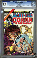 Giant-Size Conan #4  CGC 9.4  NM  WHITE Pages Universal